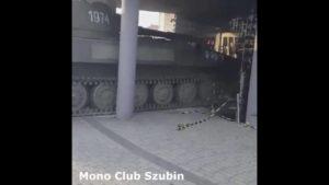 A tank has no brakes