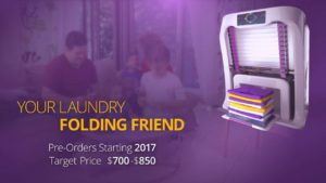 FoldiMate Family: Machine folds the laundry together
