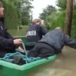 French police goes swimming – Benny Hill Version