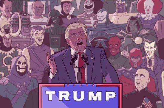 Kuka oikeasti takana on Trump