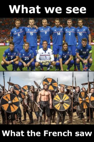 EM 2016: France vs Iceland - What the French saw