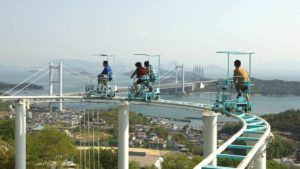 In Japan there is a pedal-driven pedal coaster