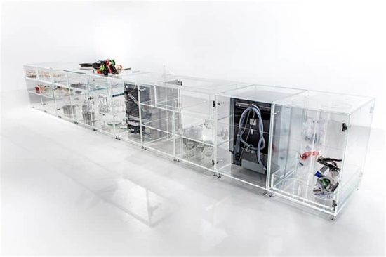 The transparent kitchen