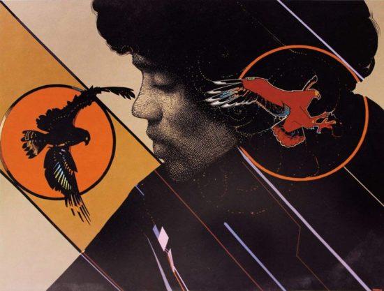 AI-Moebius Dreaming of Jimi Hendrix