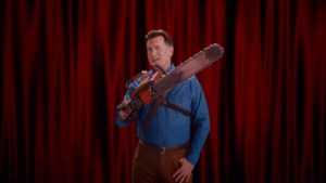 """Hacer maravilloso del Emmy nuevo: Bruce Campbell möchte für """"Ash Vs. Evil Dead"""" ganador de un Emmy"""