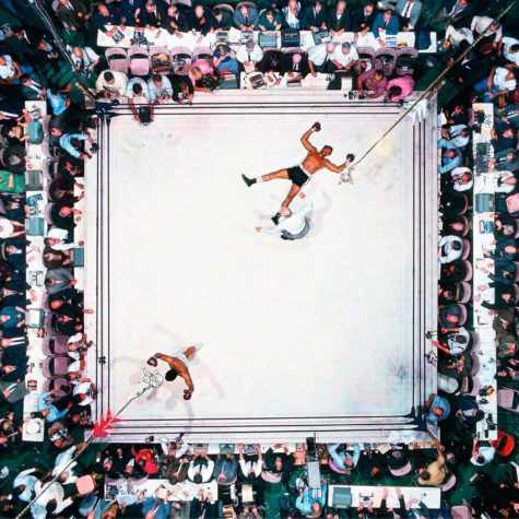 Muhammad Ali vs Cleveland Williams. World Heavyweight Title. Scheidsrechter stopte het gevecht op 1:08 van de derde ronde. Astrodome, Houston, Texas 14/11/1966.