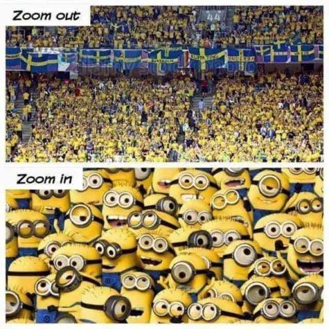 EM 2016: Neulich am Match der Schweden