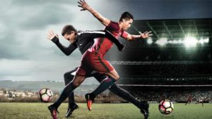 presenta Nike: Il ft switch. Cristiano Ronaldo, Harry Kane, Anthony Martial