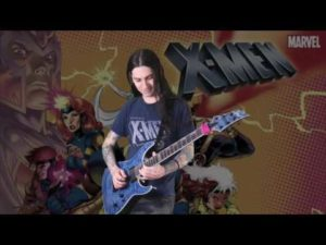 Original X-Men Tema Atende metal