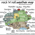 Rock 'n' Roll Weather Map