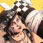 Mustavalkoinen Tank Girl Comic Cosplay