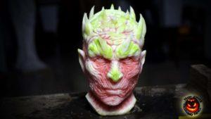 """Wie eine Wassermelone zu einem White Walker aus """"Game of Thrones"""" shall"""