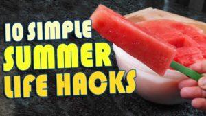 10 Sommer Life Hacks