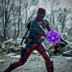 Deadpool vs bonbons Crush in Real Life