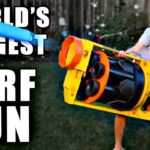 The biggest NERF Gun World
