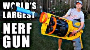 Die grösste NERF Gun der Welt
