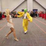 The mask dances cosplayers at Montreal Comiccon 2016