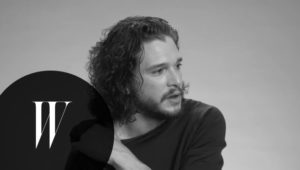 Game of Thrones: vertelt Kit Harington, zoals hij is gegoten met een blauw oog als Jon Sneeuw