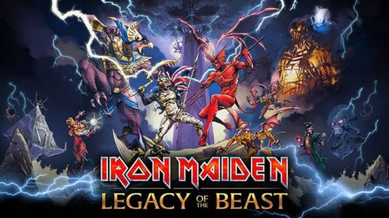 "Iron Maiden: ""Legacy Of The Beast"" Game for iPhone and Android"