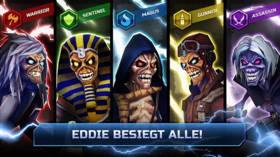 "Iron Maiden: & Quot; Legacy Of The Beast"" Jogo para iPhone e Android"