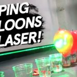 bring to a laser in the Domino style to pop air balloons