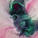 Makroaufnahmen von sich auflösenden Pillen