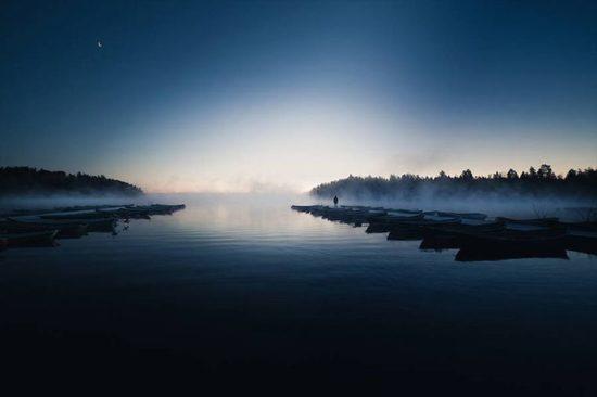 As belas paisagens nocturnas de Mika Suutari
