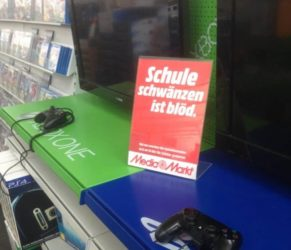 The other day at Media Markt