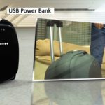 Olive Robotics: Intelligent suitcase with integrated scale can be used as a Segway