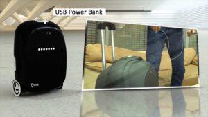 olive Robotics: valise intelligente avec échelle intégrée peut être utilisé comme un Segway