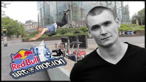 Parkour with Erik Mukhametshin