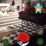 Pokémon GO begravningar