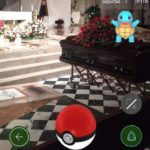 Pokémon GO funerals