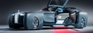 Rolls-Royce Konzept für ein futuristisch, selbstfahrendes Auto