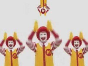 Ronald McDonald obłęd