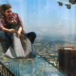 SkySlide: Slide glass above the rooftops of Los Angeles
