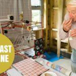Wallace und Gromit Frühstück-Maschine nachgebaut