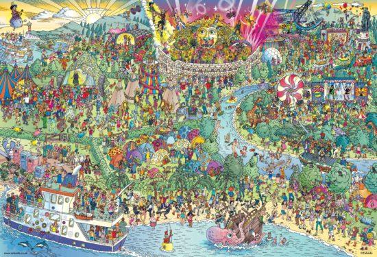 Gdzie jest Waldo na festiwalu