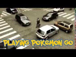 Wie es ist Pokémon GO zu spielen