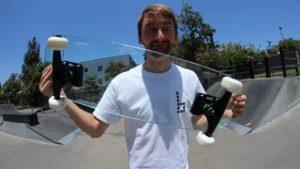 You Make It, We Skate It: Mit einem Skateboard aus Glas skaten