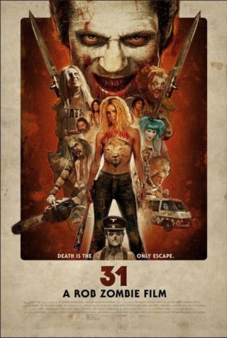 31 - Kinoposter til Rob Zombie Killer Clowns