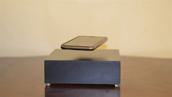 OvRcharge: Charging Station lets smartphone levitate
