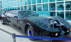 Batmobil stretch limousine