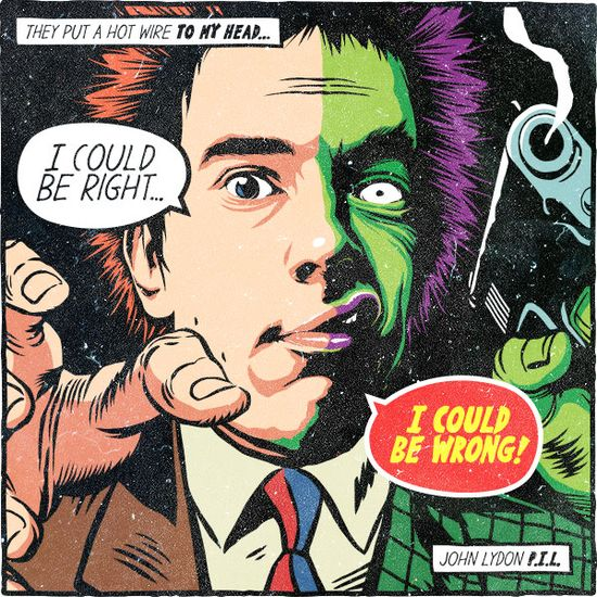 Butcher Billy Post-Punk skurk Squad Series