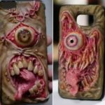 Smartphone Cases assustador do inferno Morgan Loebel