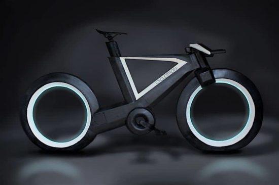 Cyclotron: Das futuristische Fahrrad im Tron-Look