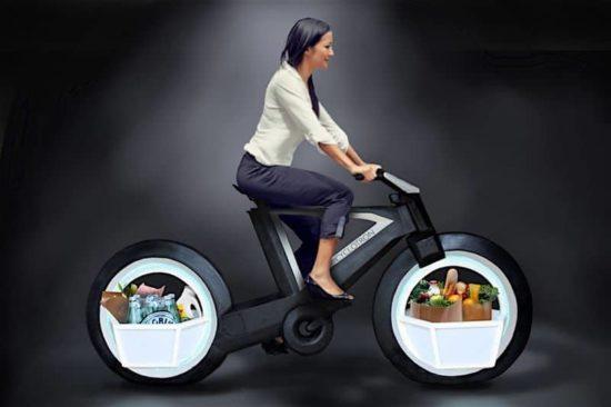 cyklotron: Den futuristiske cykel i Tron udseende