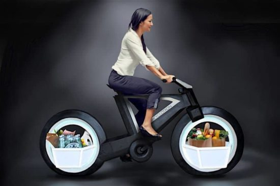kiklotron: Tron bakmak fütüristik bisiklet