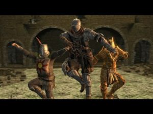 "Dark Souls mixed with A-Ha's ""Take on Me"""