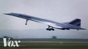 De geschiedenis van de Concorde